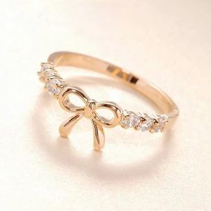 Jewelry - Gold Bow Ring